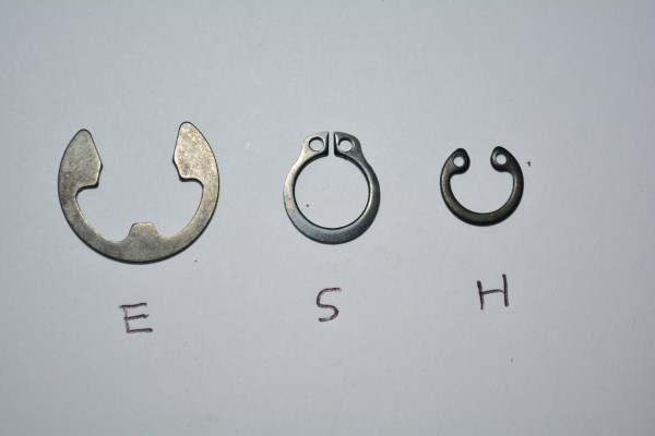 SNAP RING TYPE H M19